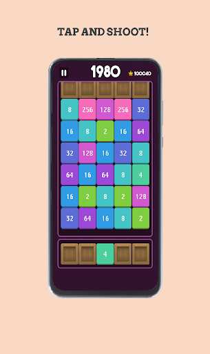 2048 Number Shoot and Merge ss 1