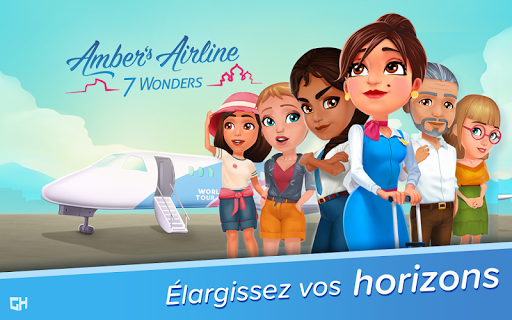 Ambers Airline – 7 Wonders ss 1