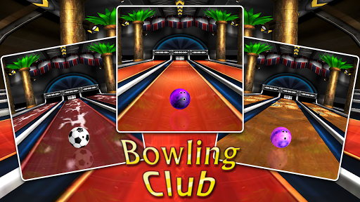 Bowling Club Roller Ball Games ss 1