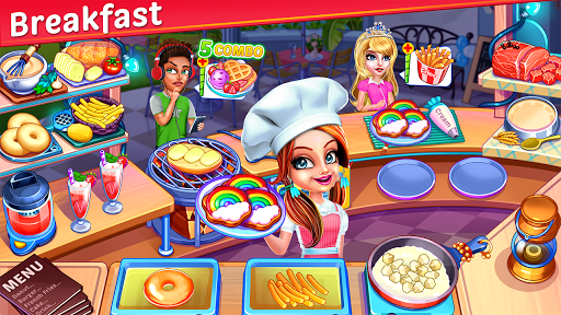 Cooking Express Star Restaurant Cooking Games ss 1