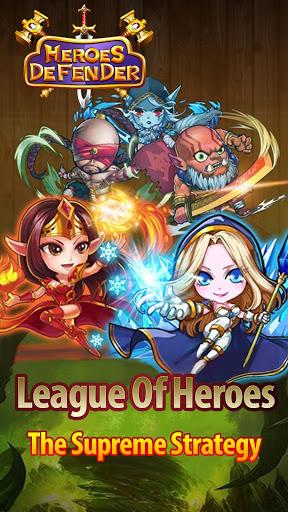 Defender Heroes Castle Defense – Epic TD Game ss 1