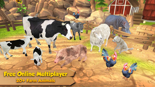 Farm Animal Family Online Sim ss 1