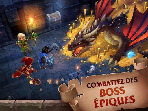 Forge of Glory Match3 MMORPG amp Action Puzzle Game ss 1