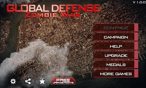 Global Defense Zombie War ss 1