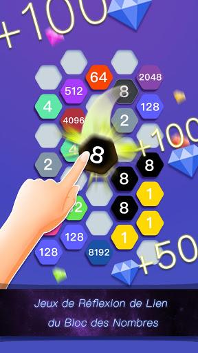 Hexa Cell-Jeu de Puzzle de Lien du Bloc des Nombre ss 1
