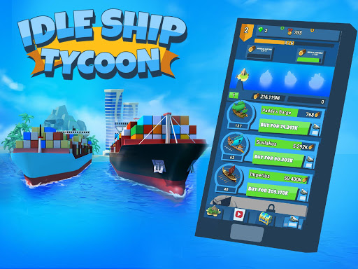 Idle Ship Tycoon Port Manager Simulator ss 1