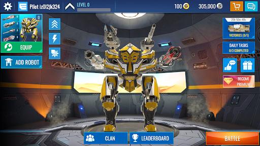 Mech Wars Multiplayer Robots Battle ss 1