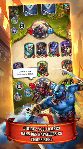 Mighty Heroes Multiplayer PvP Card Battles ss 1