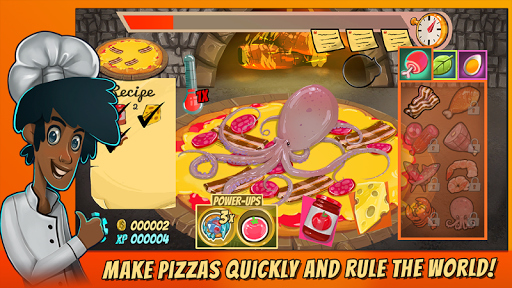 Pizza Mania Cheese Moon Chase ss 1