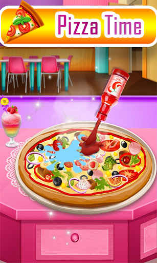 Pizza maker chef-Good pizza Baking Cooking Game ss 1