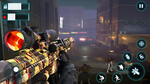 Real Survival Dead Zombie Shooter ss 1