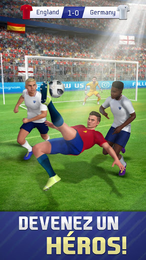 Soccer Star Goal Hero Score and win the match ss 1