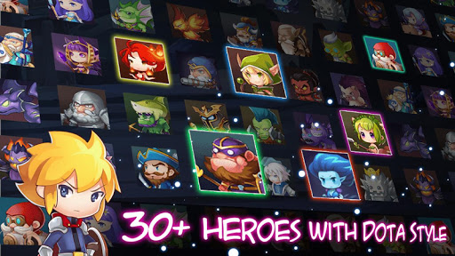 Tap Legend Hero Fight Offline ss 1