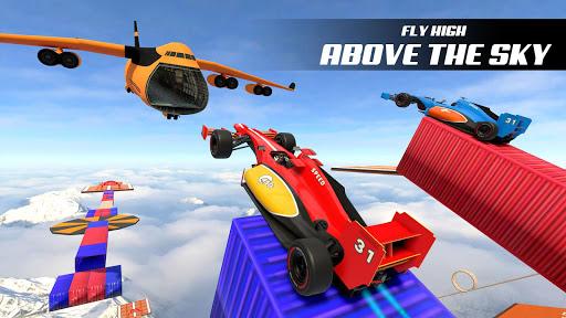 Turbo Formula Car Racing Ramp Car cascades jeux ss 1