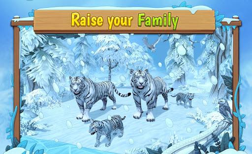 White Tiger Family Sim Online – Animal Simulator ss 1