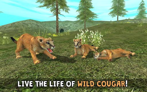 Wild Cougar Sim 3D ss 1