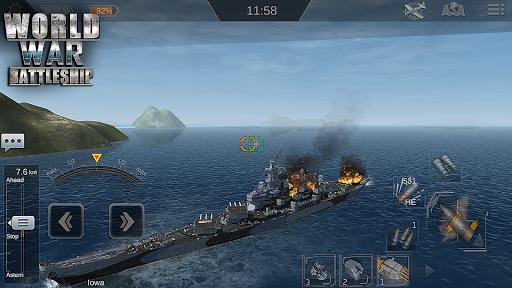 World War Battleship- Agression Marin Jeu de tir ss 1
