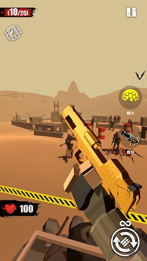fusionner le pistolet tirer sur le zombie ss 1